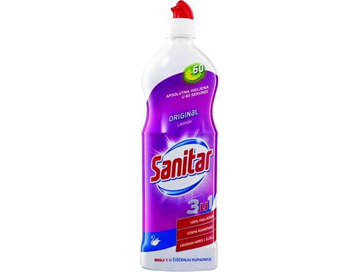 Sanitar sredstvo za čišćenje kupaonive Lavanda 750 ml