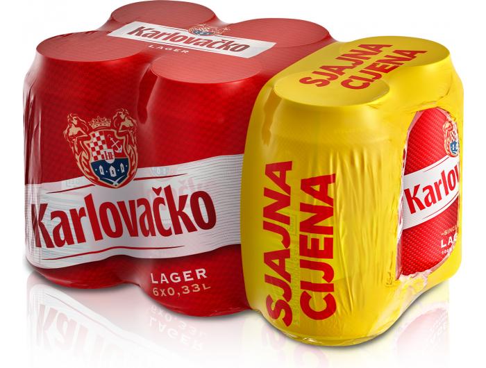 Karlovačko Pivo 6x0,33 L