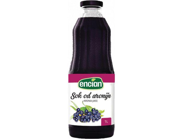 Encian sok od aronije 1 L