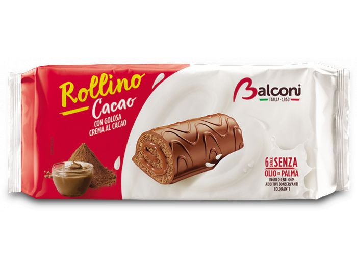 Balconi Rollino rolat s kakao kremom 1 pak 6x37 g