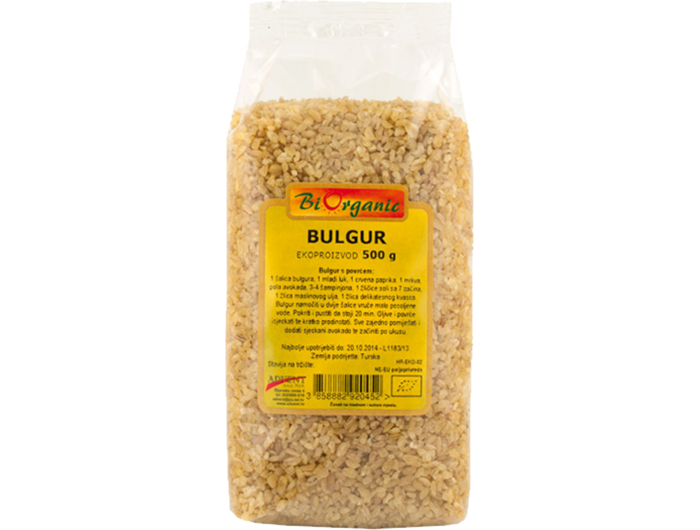 BiOrganic BIO bulgur 500 g