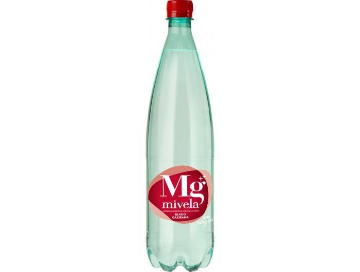 Jamnica voda Mg Mivela blago gazirana 1 L