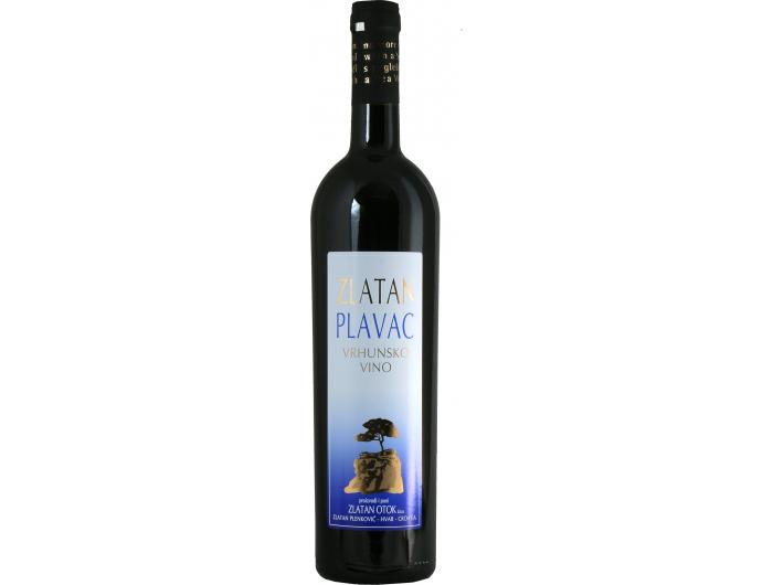 Vino crno Vinogorje Hvar Zlatan Plavac Zlatan Otok 0,75 L