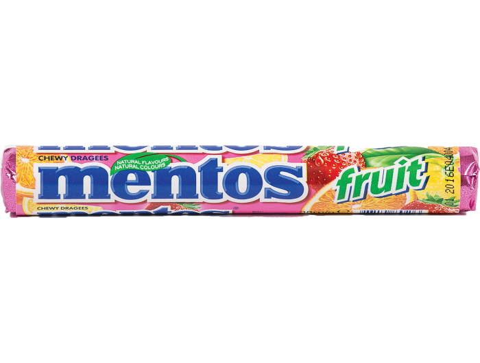 Mentos Fruit Bomboni 38 g