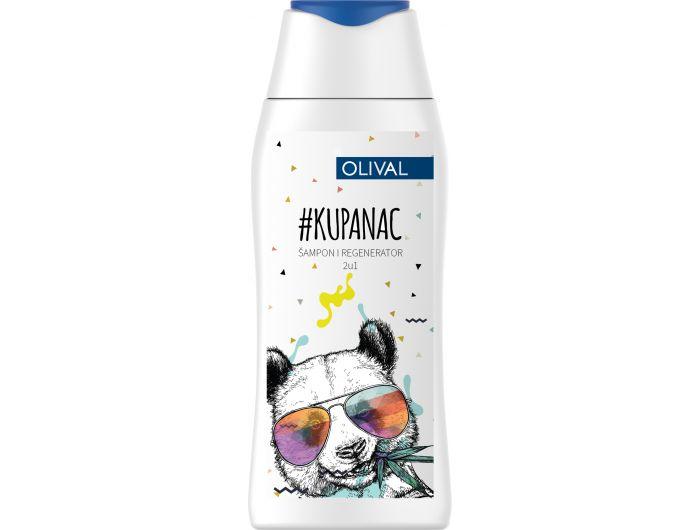 Olival Kupanac 2u1 Dječji šampon i regenerator 200 ml