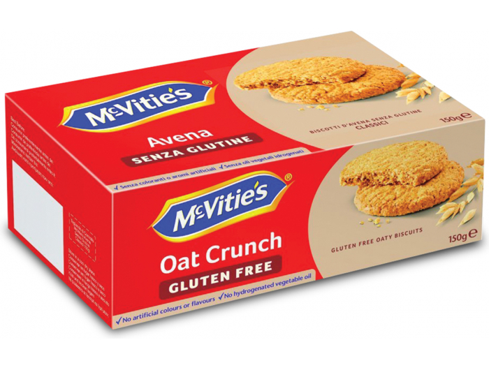 McVitie's Avena keksi bez glutena 150 g