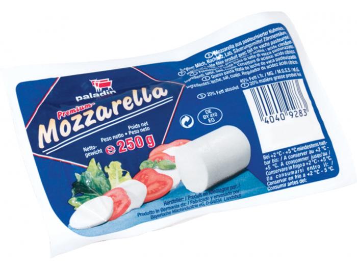 Paladin Mozzarella sir 250 g