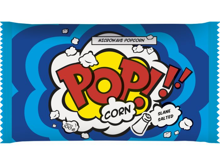 Popcorn kokice za mikrovalnu slane 100 g