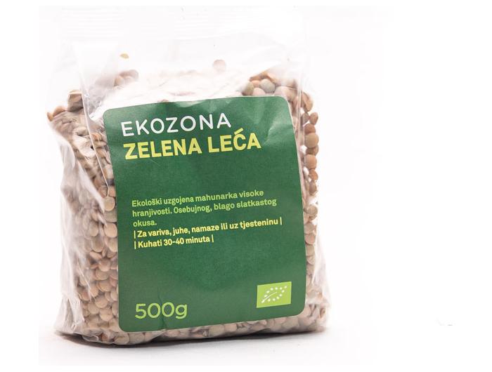 Ekozona BIO zelena leća 500 g
