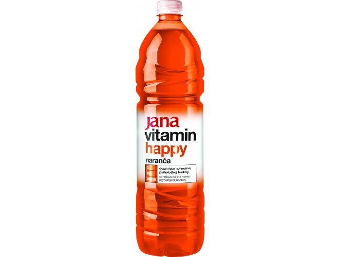 Jana Happy aromatizirana voda s vitaminima 1,5 L