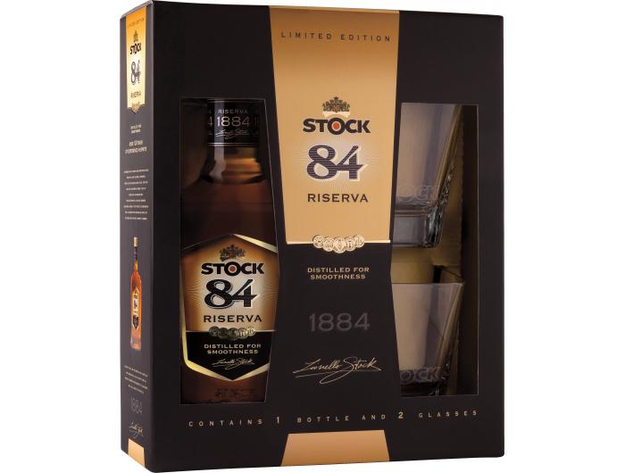 Stock '84 (gift box, 2 čaše) 0,7 L