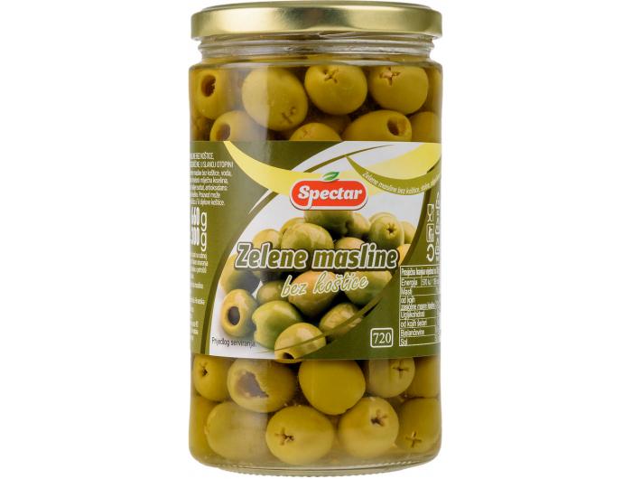 Spectar zelene masline bez koštica 660 g