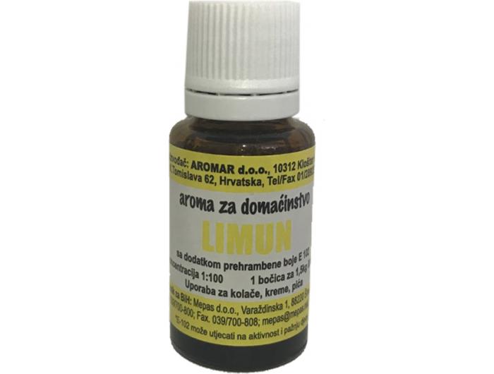 Aromar Limun aroma za domaćinstvo  15 ml