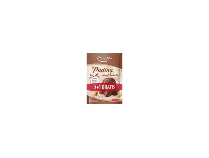 Podravka Dolcela mješavina za puding čokolada 3+1 GRATIS 1 pak 4x45 g