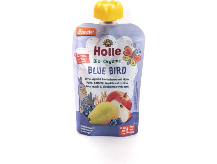 Holle BIO pire od kruške, borovnice i zobi100 g