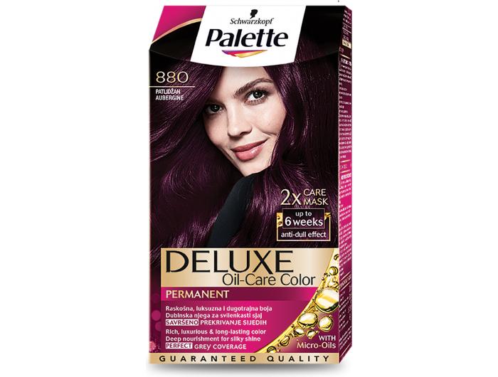 Palette Deluxe 880 patlidžan boja za kosu 1 kom