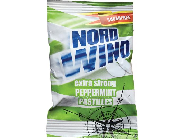 Nordwind pepermint bomboni 25 g