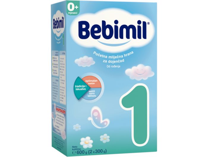 Bebimil 1 početna mliječna hrana za dojenčad 600 g
