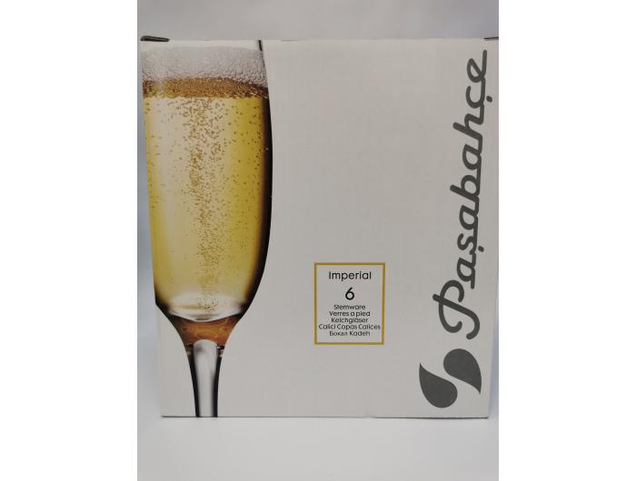 Čaša za šampanjac Imperial, 6 kom