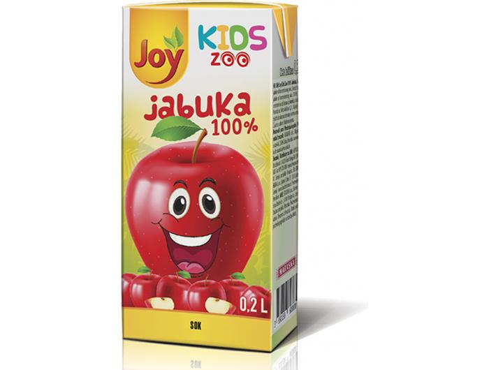 Joy kids sok 100% jabuka 0,2 L