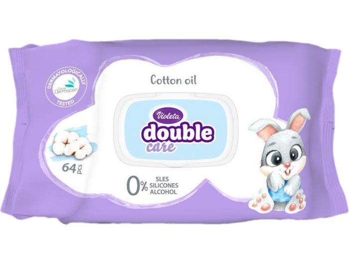 Violeta baby dječje vlažne maramice 1 KOM 64 kom