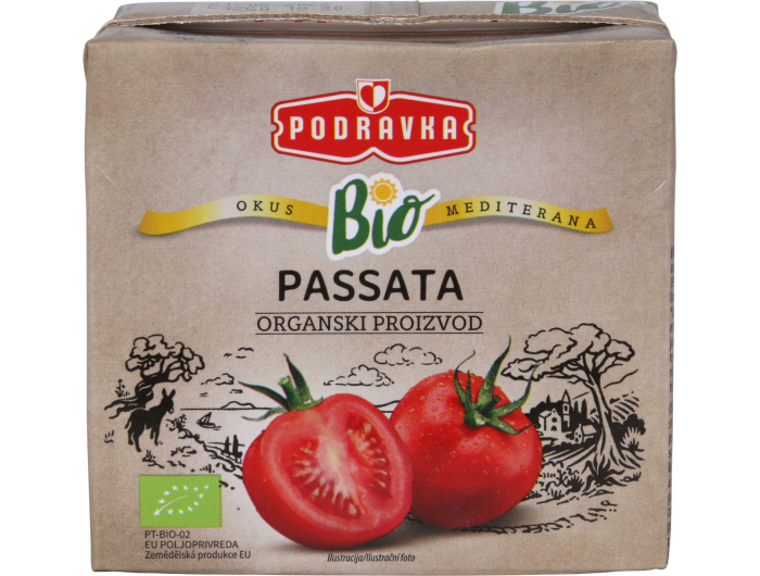 Podravka BIOpasirana rajčica500 g