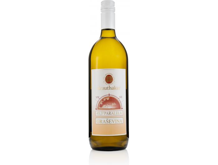 Krauthaker Graševina Paralela kvalitetno bijelo vino 1 L