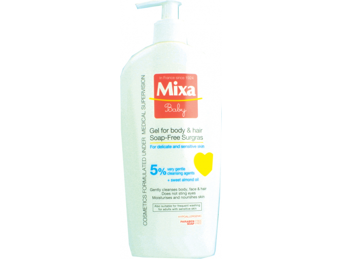 Mixa Baby Gel za tijelo i kosu 400 ml