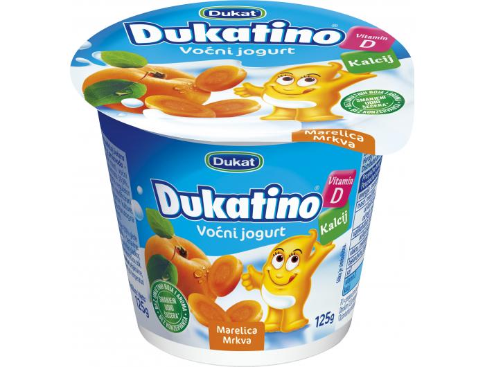 Dukatino jogurt voćni mix, 125 g