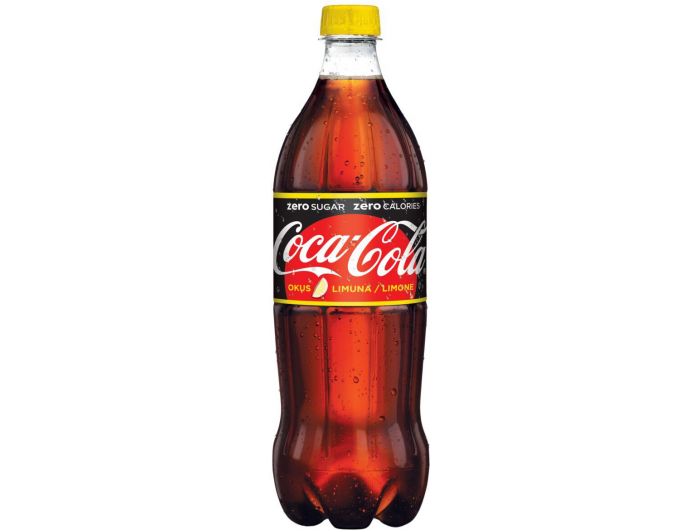 Coca Cola No Sugar Lemon 1 L