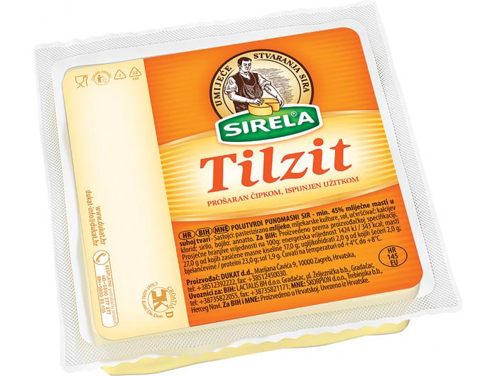 Dukat Sirela Tilzit sir naresci, 400 g
