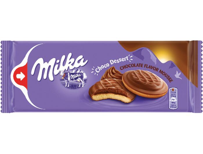 Milka Čokoladni desert punjen musseom 128 g
