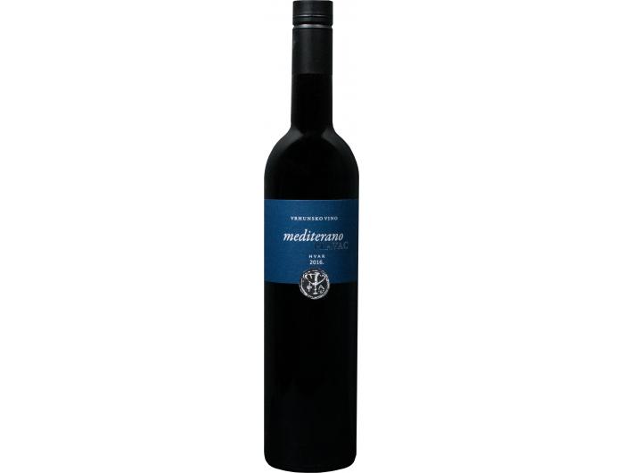 Vino crno  Mediterano Plavac  PZ Svirče 0,75 L