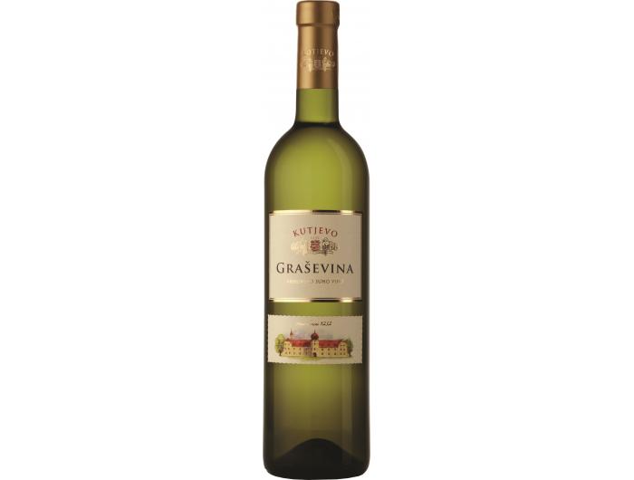 Vino bijelo Graševina Vinogorje Kutjevo 0,75 L