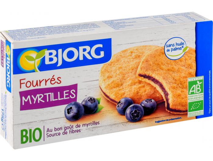 Bjorg BIO keks s borovnicom 175 g