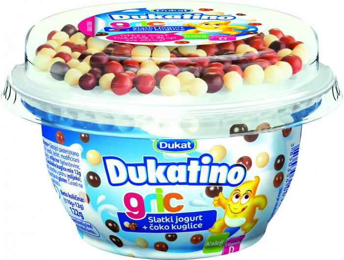 Dukat Dukatino jogurt gric 122 g