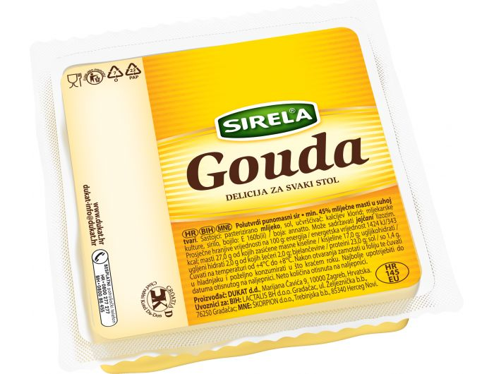 Dukat Sirela Gouda sir 250 g