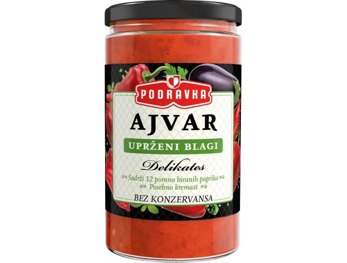 Podravka Ajvar uprženi blagi 350 g