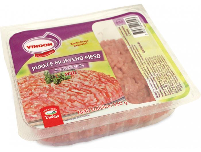 Vindon Pureće mljeveno meso  500 g