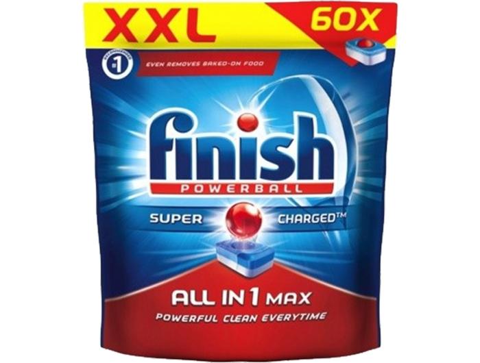 Finish tablete za posuđe All in 1 60 komada