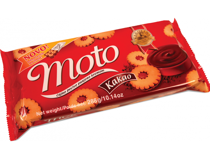 Karolina Moto keksi s kakaom 288 g