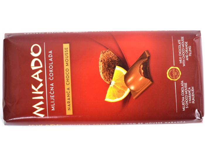 Zvečevo Čokolada mousse naranča 100 g