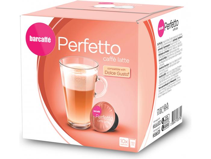 Barcaffe Perfetto Caffe Latte kapsule 160 g