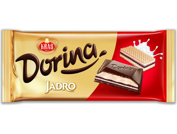 Kraš Dorina Jadro čokolada 100 g