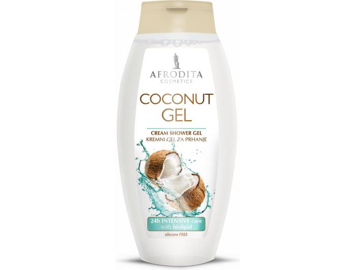 Afrodita gel za tuširanje Coconut 250 ml