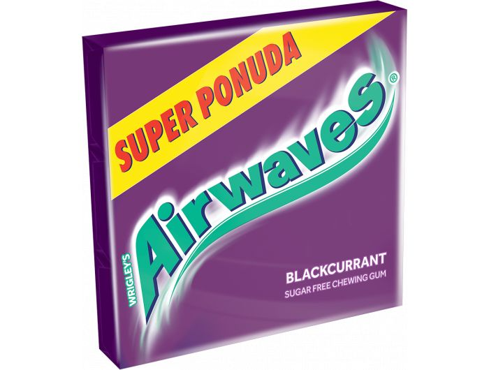 Airwaves Blackurrant žvakaća guma 3x14 g