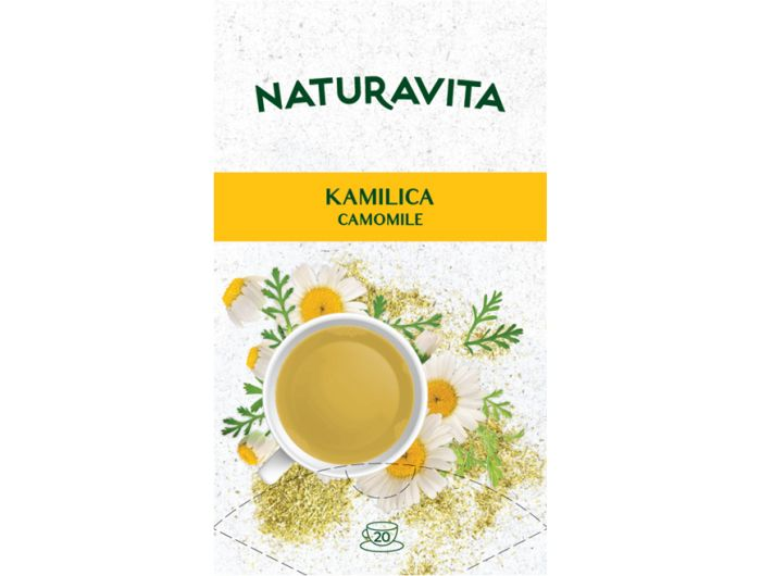 Naturavita čaj kamilica 20x1 g