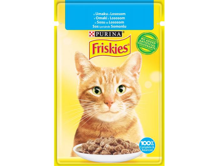 Friskies hrana za mačke losos 85g