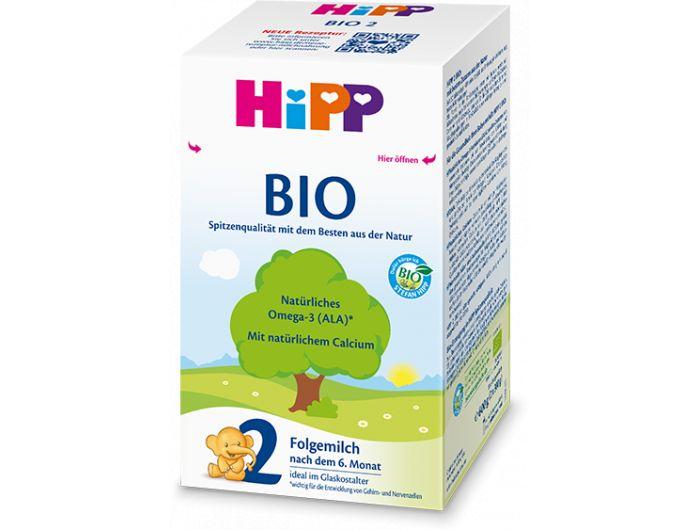 Zamjensko mlijeko, 600 g, bio, Hipp 2