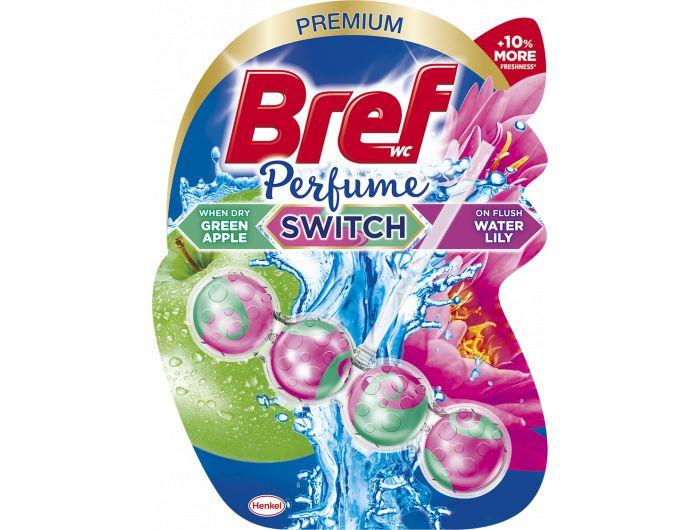 Bref Parfume switch sredstvo za čišćenje i osvježavanje wc školjke Apple Water Lily  50 g